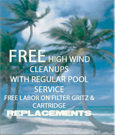 weekly pool service in upland
